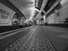 The Other Side (Douguerreotype) Tags: uk gb britain british england london city urban tube underground metro subway tunnel platform bw blackandwhite mono monochrome transport