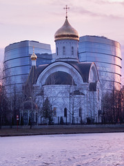Saint Euphrosyne of Moscow Church (ivan.dolgoff) Tags: olympusepl3 moscow russia church orthodox