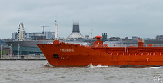 Stenberg (frisiabonn) Tags: vehicle ship water wirral liverpool england uk britain marine vessel river mersey merseyside sea shore waterfront maritime boat outdoor oil chemical tanker stenberg