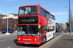 TransBus Trident TransBus ALX400 (DennisDartSLF) Tags: birmingham bus transbus trident alx400 4575 nationalexpresswestmidlands bu04bka