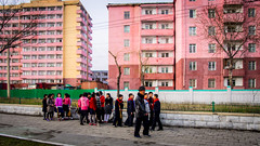 Saturday is a working day for DPRK people. (Yen L.) Tags: northkorea korea koryo dprk asia communism 조선 조선민주주의인민공화국 朝鮮 北韓 韓 高麗