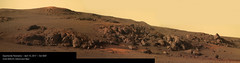 Opportunity Panorama (Lights In The Dark) Tags: opportunity rover mars nasa