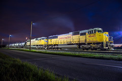 UP 4645 (Mickoo737) Tags: unionpacific up mulberryyard florida sd70m