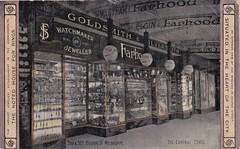 Farhood's Jewellery store, Bourke Street, Melbourne, Victoria - 1912 (Aussie~mobs) Tags: farhood watchmaker goldsmith silversmith shop store shopwindow bournestreet melbourne victoria vintage ausgtralia jeweller 1912 advertisement