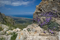 (dinoscom) Tags: greece korinthia acrocorinth view castle nikon nikond40 d40 landscape