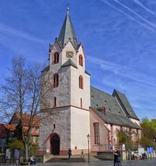 Groß-Umstadt Evangelische Stadtkirche (wernerfunk) Tags: hessen kirche architektur