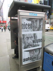 Niceo Wayne Auto Movie poster Graffiti art 4640 (Brechtbug) Tags: niceo wayne auto graffiti movie poster art from 1966 film the good bad ugly with clint eastwood eli wallach lee van cleef posters sidewalk phone booth 7th avenue near 34th street midtown nyc 2017 04202017 new york city profile design films movies cowboy western st ave streets niceos criminal minded guerilla ads cover manhattan culture jamming bombing since 1977 mass appeal reports same