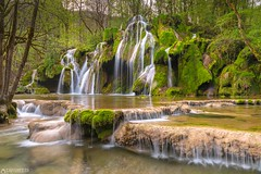 Cascades de tufs - Jura France (Captures.ch) Tags: 2017 april arbois black brown capture cascadesdetufs clear france gray green jura jurafrance nature orange red river sky spring trees tuf water waterfall white yellow