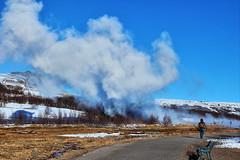 Geysir (Albert Jafar) Tags: geysir geyser thegreatgeysir iceland strokkur outdoor boilingmudspot worldtrekker goldencircle
