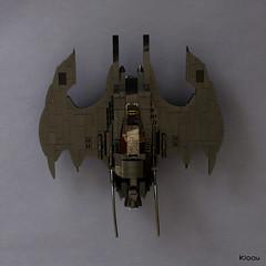 The Batman Batwing (Kloou.) Tags: legobatman batwing kloou moc artist legoartist lego toys toy brick arttoy art afol legoart batman dccomics superheroes batplane movie 1989 toyphotography
