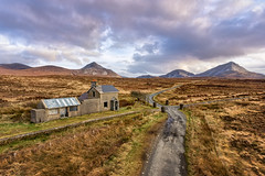 Cashelnagore Railway Station (Gareth Wray - 9 Million Views - Thank You) Tags: gweedore dji mt mount mountain errigal dunlewey phantom four 4 drone aerial quadcopter landscape landmark tourist attraction tourism tourists historic history visit donegal ireland irish scenic gareth wray photography strabane nikon sun atlantic day vacation 2017 derrybeg sunset gaeltacht hill ruin abandoned ghost dry stone decay rural traditional cashelnagore gortahork lost rail railway tracks line station train steam londonderry lough swilly company