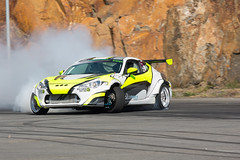 Sideways (sdhweb) Tags: car cars driftingfast drive motor sport motorsport engine revs revcounter tires tyre action norway exciting driving competition smoke sideways turbo