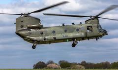 28 Sqn Chinook ZA710, During Underslung load training @ RAF Odiham, Hampshire. (mattyste92) Tags: chinook boeing heli helicopter flying flight fly raf rafodiham photography photo picture pic odiham hampshire za710 wokkawokka wokka ops training blurr 28sqn squadron h47 military beast