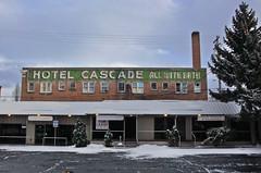 Hotel Cascade (skipmoore) Tags: klamathfalls hotelcascade painted sign weathered