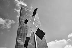 Frankfurt 2 (rainerneumann831) Tags: ezb frankfurt hochhaus gebäude architektur andreaskreuz