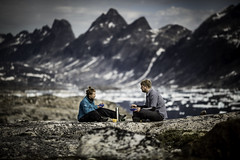 Breakfast with a view - on the hiking trail in East Greenland (@ilovegreenland) Tags: hiking tourists arctic adventure commercial greenland inuit eastgreenland ammassalik greenlander visitgreenland bymadspihl pioneeringpeople destinationeastgreenland limitedcommerciallicense begrnsetkommerciellicens