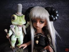 Khnum and Froderick (Sadomina) Tags: doll frog toad bjd soom abjd glot khnum froderick glati