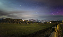 Jackson Hole Nightscapes (Matthew Brucker) Tags: usa stars jackson astrophotography wyoming grandteton jacksonhole northernlights auroraborealis nightscapes grandtetonnationalpark jhmr travelwyoming southparkloop jacksonholemountainresort