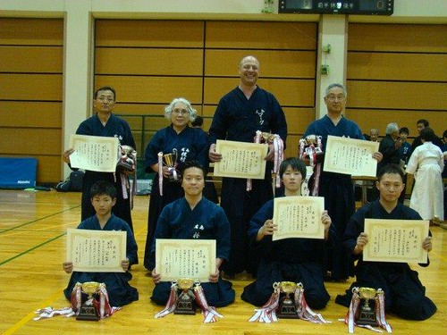 2014 Hiroshima Prefecture Jodo Tournament Winners