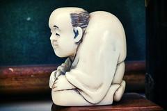 Netsuke (omoo) Tags: newyorkcity art japanese apartment westvillage carving littleman antiques greenwichvillage netsuke hunchback tomoyuki dscn1707 japanesecarving 19thcenturyjapanesecarving theartistsnameistomoyuki