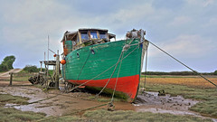 Sunderland Point. (restoration work) (james perkins.) Tags: boats tripod lancashire filters hdr sigma1020mm sunderlandpoint canon650d photoshopelements11
