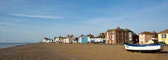 Aldeburgh, Suffolk, early morning (Miche & Jon Rousell) Tags: blue sea sky beach clouds boat suffolk fishing pebbles aldeburgh