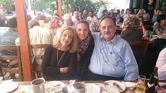 17.05.2014 Στο Μοσχάτο με τους Δ. Ναυπλιώτη και  Μαρία Τσέλιου