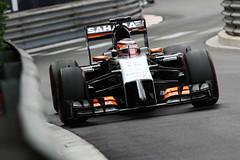 Formula One World Championship (SaharaForceIndiaF1Team) Tags: track action f1 montecarlo monaco grandprix formulaone formula1 gp hlkenberg hulkenberg huelkenberg gp1406a jm312