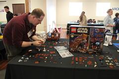 75059 Sandcrawler team build (11) (The Brothers Brick) Tags: starwars lego ucs sandcrawler tbb brickcon sealug 75059 archlug squatchlug