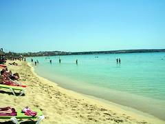Badefreuden in Arenal (ohaoha) Tags: strand sand meer wasser europa europe ile insel espana mallorca isle espagne spanien arenal spagna balearen