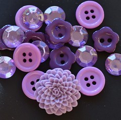 I got some buttons (hcorper) Tags: square buttons may mauve cropped knappar 365d daysincolour