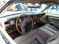 1977 Lincoln Continental Mark V Interior (Yohai_Rodin) Tags: cars car club israel 5 five tel aviv ישראל אביב תל מכונית מועדון classc מכוניות קלאסית קלאסיות החמש