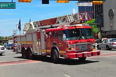Newark Fire Department Ladder 5 (Triborough) Tags: newjersey essexcounty nj alf firetruck fireengine ladder newark americanlafrance lti nfd ladder5 newarkfiredepartment