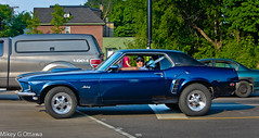 Ford Mustang Grande -  Ottawa 06 14 (Mikey G Ottawa) Tags: street city ontario canada ford look grande long ottawa stare mustang fordmustang glance wheelbase mikeygottawa