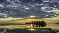 A Painter's Island (WherezJeff) Tags: sunset lake canada island nationalpark high alberta elkisland fortsaskatchewan yeg astotin