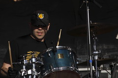 Brian Caputo Nr. 1 (Chandler Moulton) Tags: paul drums photography richmond drummer chandler 28135 ef rva brownsisland sunliner 50dcanon moultoncanon dominionriverrock f3556concert