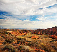 SNOW CANYON OVERLOOK shot 2014 blue sky clouds (houstonryan) Tags: park blue sky white snow art st clouds print square for this utah photo george pretty photographer state ryan sale picture houston canyon photograph license area redrock overlook 2014 vertorama pohtographer houstonryan