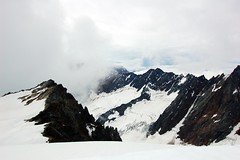 Cloudy mountains (sylweczka) Tags: snow ski mountains alps switzerland tour glacier skitour sustenpass sylweczka gwchtenhorn