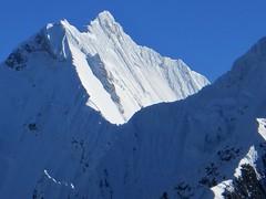 Yerupaja (6620m) from Paso Jurau (5060m).