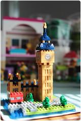 Big Ben (megipupu) Tags: london bigben londonbus nanoblock nanoblocks