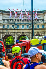 Fly the flag  Come on England (Le monde d'aujourd'hui) Tags: world england london cup june brasil square football day play fifa flag soccer trafalgar first when match worldcup their 14th 2014 englandflag comeonengland flytheflag stgeorgescrossflag