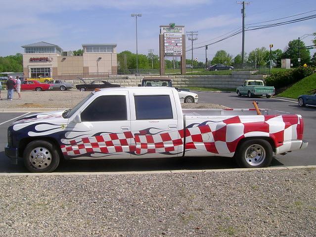 truck pickup chevy 1994 carshow dually dualie c3500 burtonsvillemd churchoftheholydonut