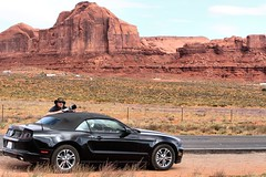 Me - Monument Valley (Airwolfhound) Tags: mustang monumentvalley v8 airwolfhound timfelce