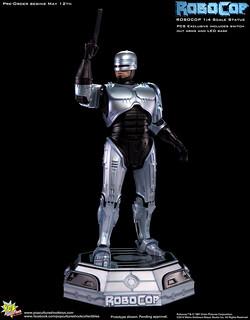 機器戰警1/4比例雕像新作推出