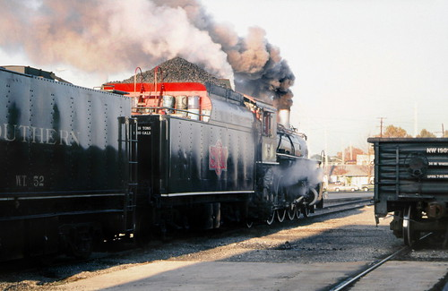 Southern Railway operated S&A 4-6-2, ALCO built 1910, Light