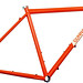 Gunner Hyper-X Disc Cross Bike with 44mm Head Tube in Monarch Orange
