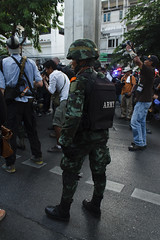 20140524-anti coup day 2-92 (Sora_Wong69) Tags: thailand bangkok military protest soldiers anti activist politic coupdetat martiallaw