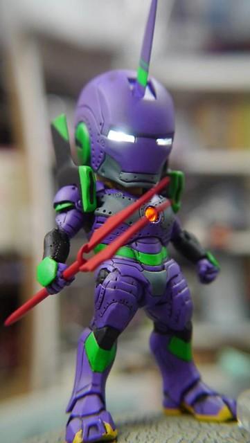 【玩具人'鬼釜神工' 投稿】鋼鐵人X初號機=鋼鐵初號機!