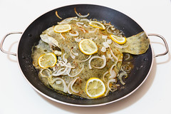 Turbot after cooking (feradz) Tags: fish dish meal turbot