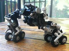 Riesen MF-003 'Toad' (scifizombie) Tags: mobile lego frame zero mecha mech microscale mfz mobileframezero